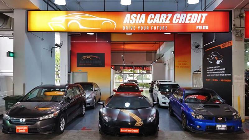 Asia Carz Car Dealer Singapore Shopfront